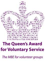 Queen's Award for Voluntary Service logo
